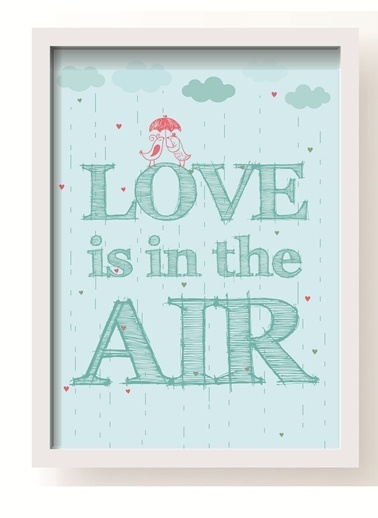 Love Is In The Air Poster-All About Wall